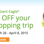Giant Eagle: Get $10 OFF Your Next Shopping Trip with Coinstar Cash In