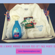 Happy Mother's Day from Downy Wrinkle Releaser Plus + One Reader Wins a Gift Pack Worth $125!