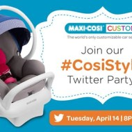 Join Maxi-Cosi #CosiStyle Twitter Party Tonight at 8PM EST + Prizes!