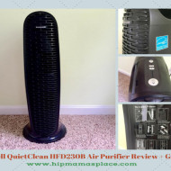 Honeywell QuietClean Tower Air Purifier Review and Giveaway!