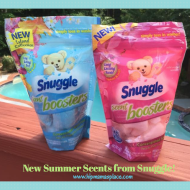 Snuggle New Summer Scent Booster Scents: Wild Orchid Wonder and Island Dream