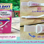 New and Improved First Response Early Result Pregnancy Test #IC #Ad