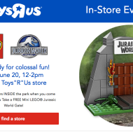 ToysR'Us: FREE LEGO Building Event on June 20th
