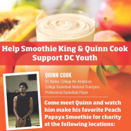 Smoothie King & Basketball Star Quinn Cook Team Up to Raise Funds for Washington D.C.'s Rita Bright Family and Youth Center