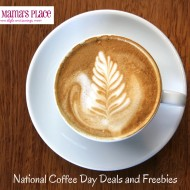 September 29 is National Coffee Day + Where To Get Deals