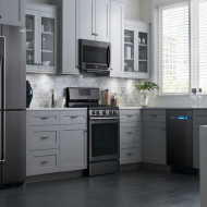 6 Budget-Savvy Ideas to Update Your Kitchen + Samsung Black Stainless Steel Appliances