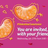 Cuties Twitter Party Today (1/27) #ValentineSweetness