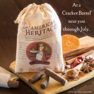 AMERICAN HERITAGE® Chocolate Bites Now Available in Cracker Barrel Stores + Giveaway!