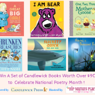 Celebrate National Poetry Month with Candlewick + A Book Prize Pack Giveaway!