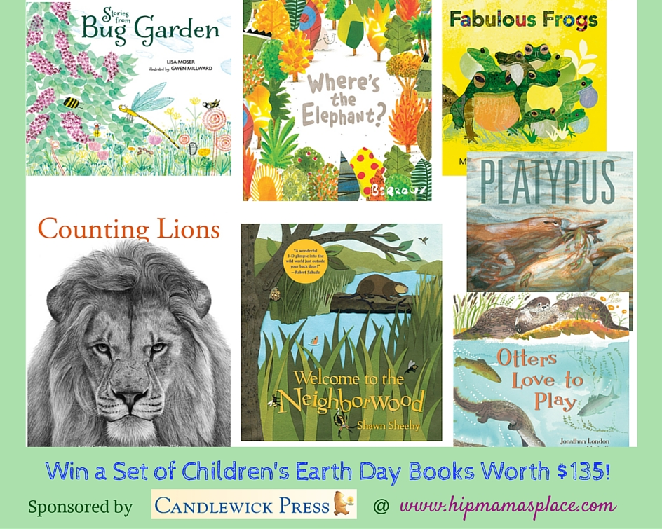 Win a Candlewick Children's Earth Day Books Set Worth $135!