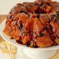 Mother's Day Brunch Idea: Crunchy Monkey Bread with Honey Bunches of Oats Honey Roasted Cereal #Recipe