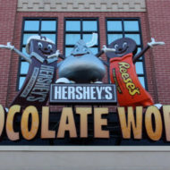 "HERSHEY'S CHOCOLATE WORLD ""Chocolate Making Tour"" Re-launch and Sweepstakes"