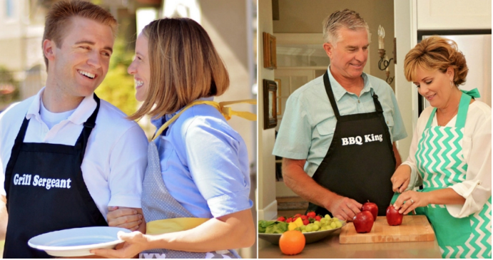 Men's Aprons for Father's Day as low as $13.96 thru 5/31!