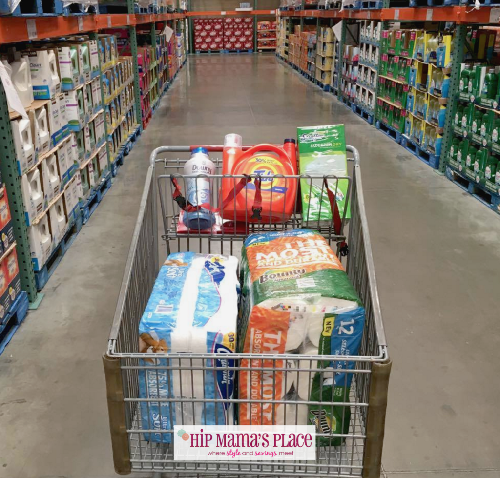 P&G Household Needs at Costco