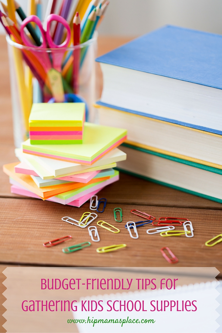 school supplies money-saving tips