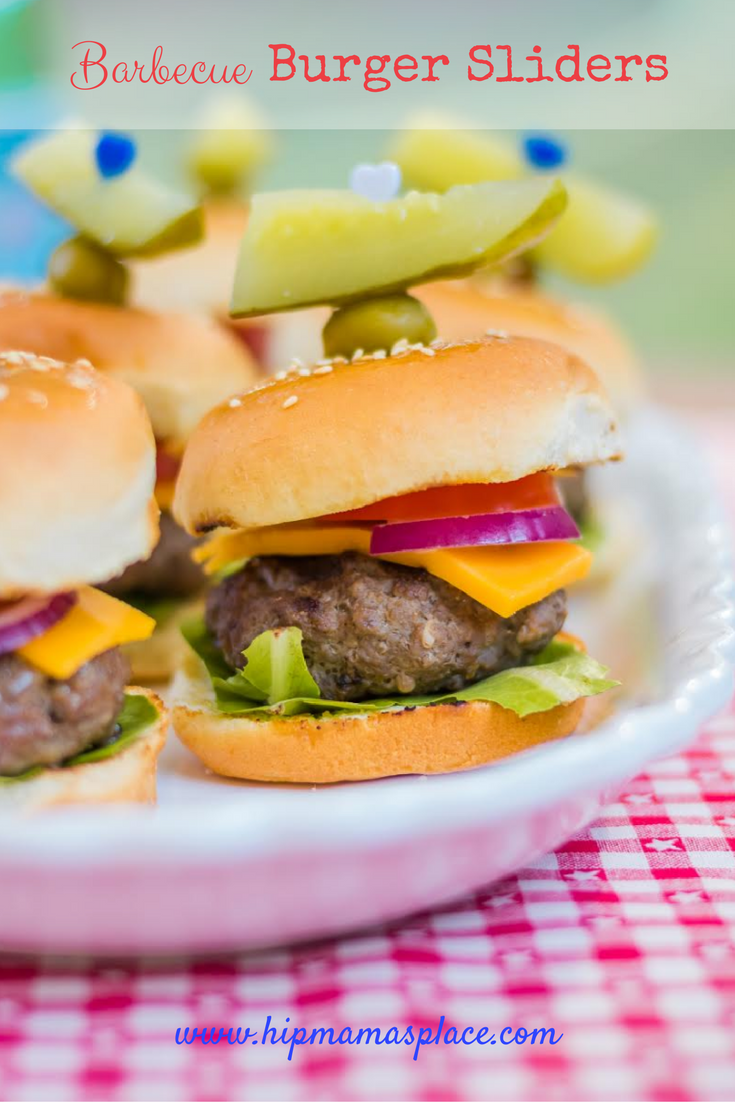 Barbecue Burger Sliders