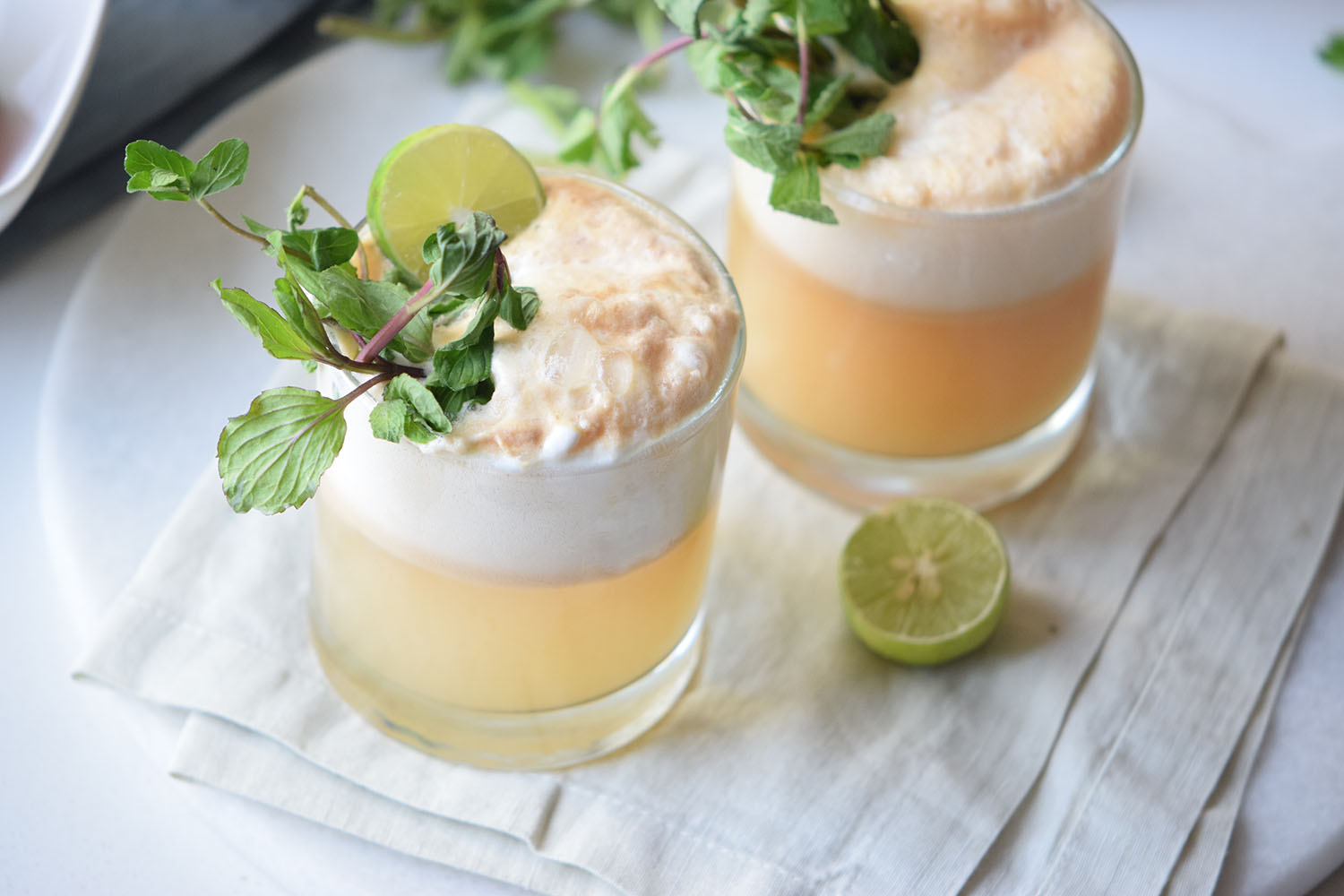 Peach Mocktailrita Float