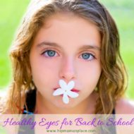 August is Children's Eye Health & Safety Month: Make vision checks part of the back-to-school routine