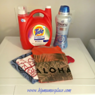 Preparing for Back To School with P&G Household Needs Products
