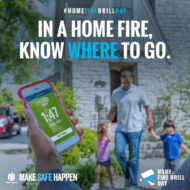 Home Fire Drill Day is October 15th