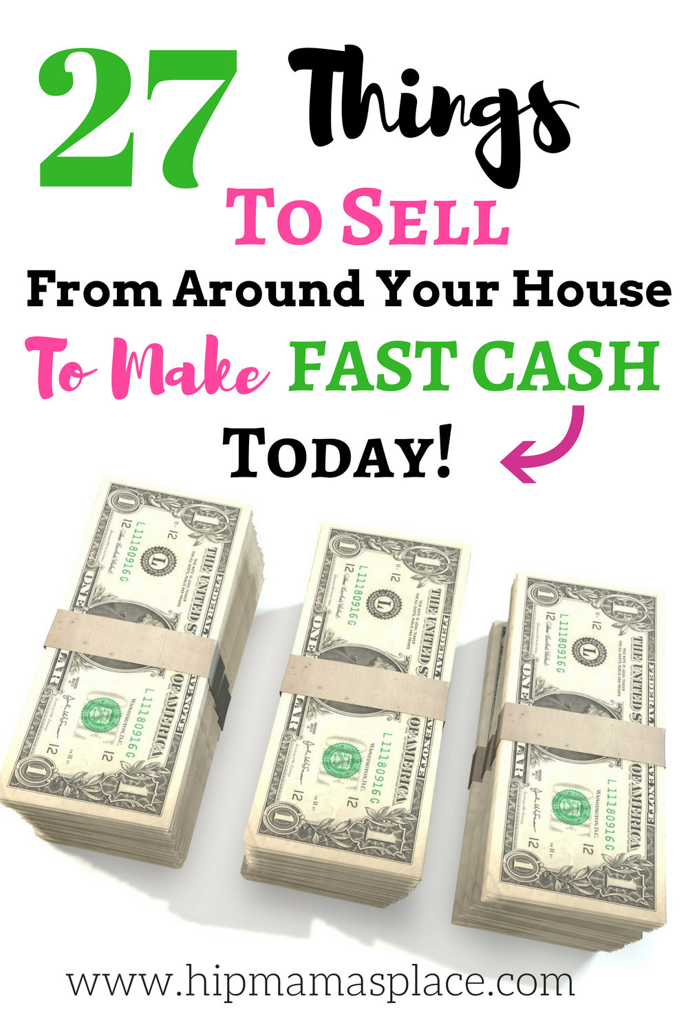 Here are things from around your house to sell for fast cash today!