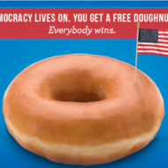 Go Out and Vote (on November 8th) Then Score These Election Day Deals and Freebies!