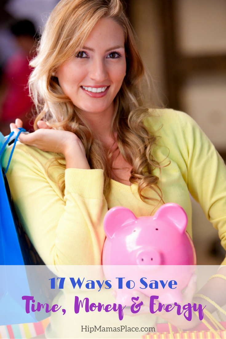 Ways To Save Time Money Energy