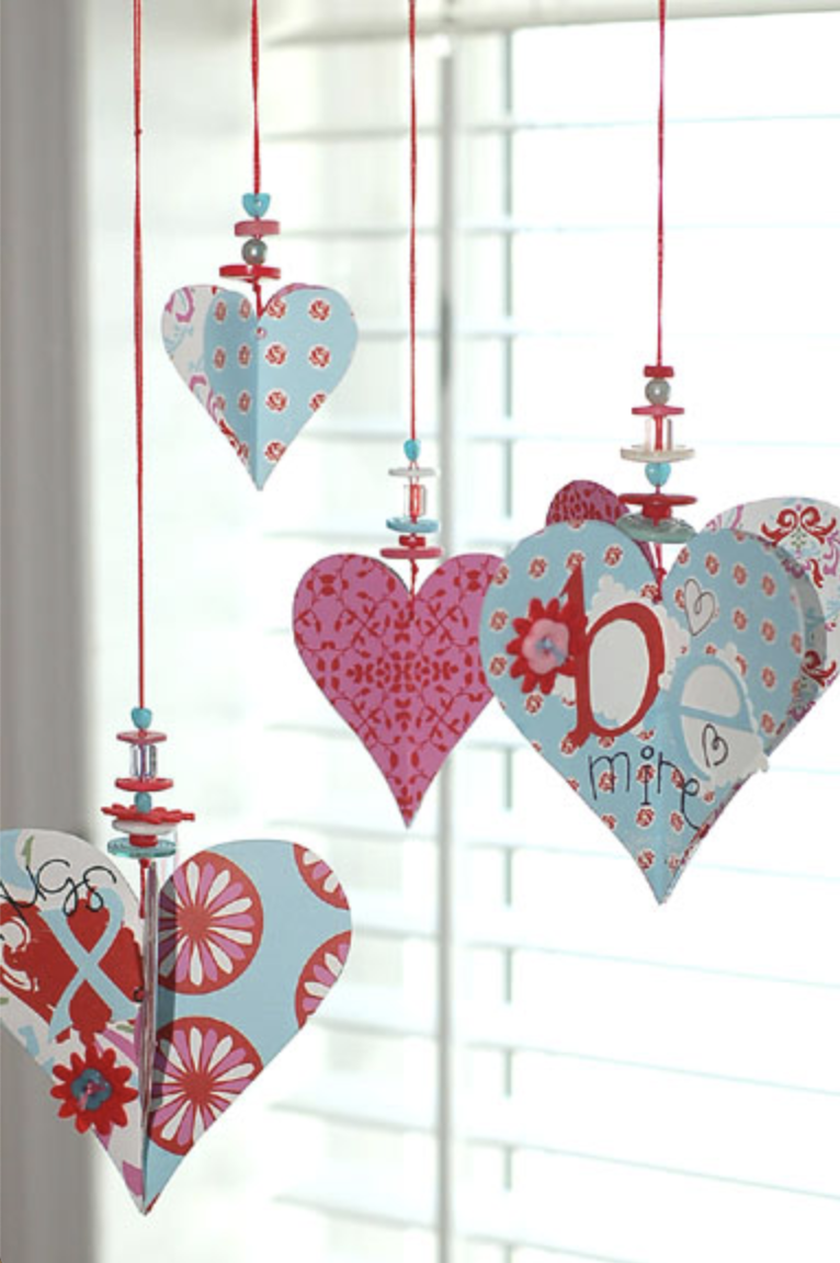 Make Valentines' Day special and get inspired to take on some DIY Valentine craft projects! Try these 24 Valentine crafts to make in an afternoon!