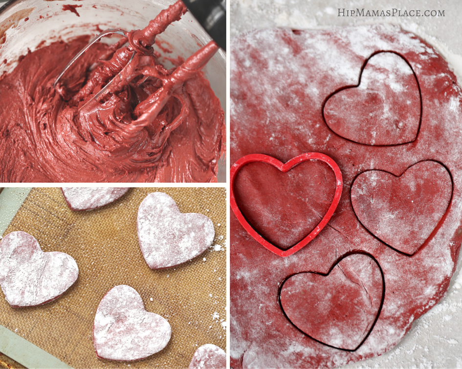 How to make red velvet crinkle cookies form scratch