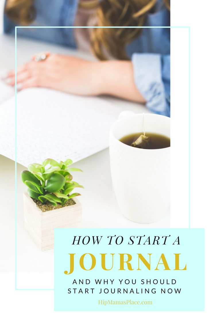 Helpful article on how to start a journal - and why you should start journaling now.