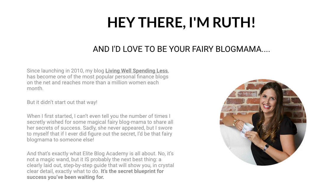 Enroll in the Elite Blog Academy and take your blog to the next level!
