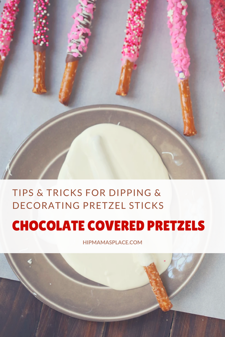 Tips and Tricks for Dipping and Decorating Chocolate Covered Pretzels