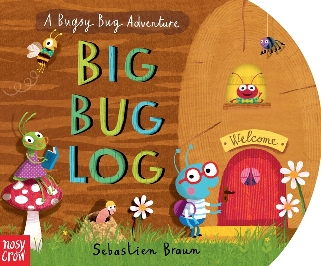 Packed with humor and detail, Big Bug Log is a brilliantly interactive board book that will keep little ones entertained for hours!