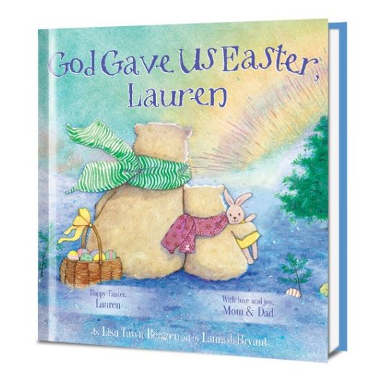 God Gave Us Easter Personalized Book