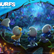 SMURFS: The LOST VILLAGE Movie In Theaters April 7 + Win 2 Movie Tickets!