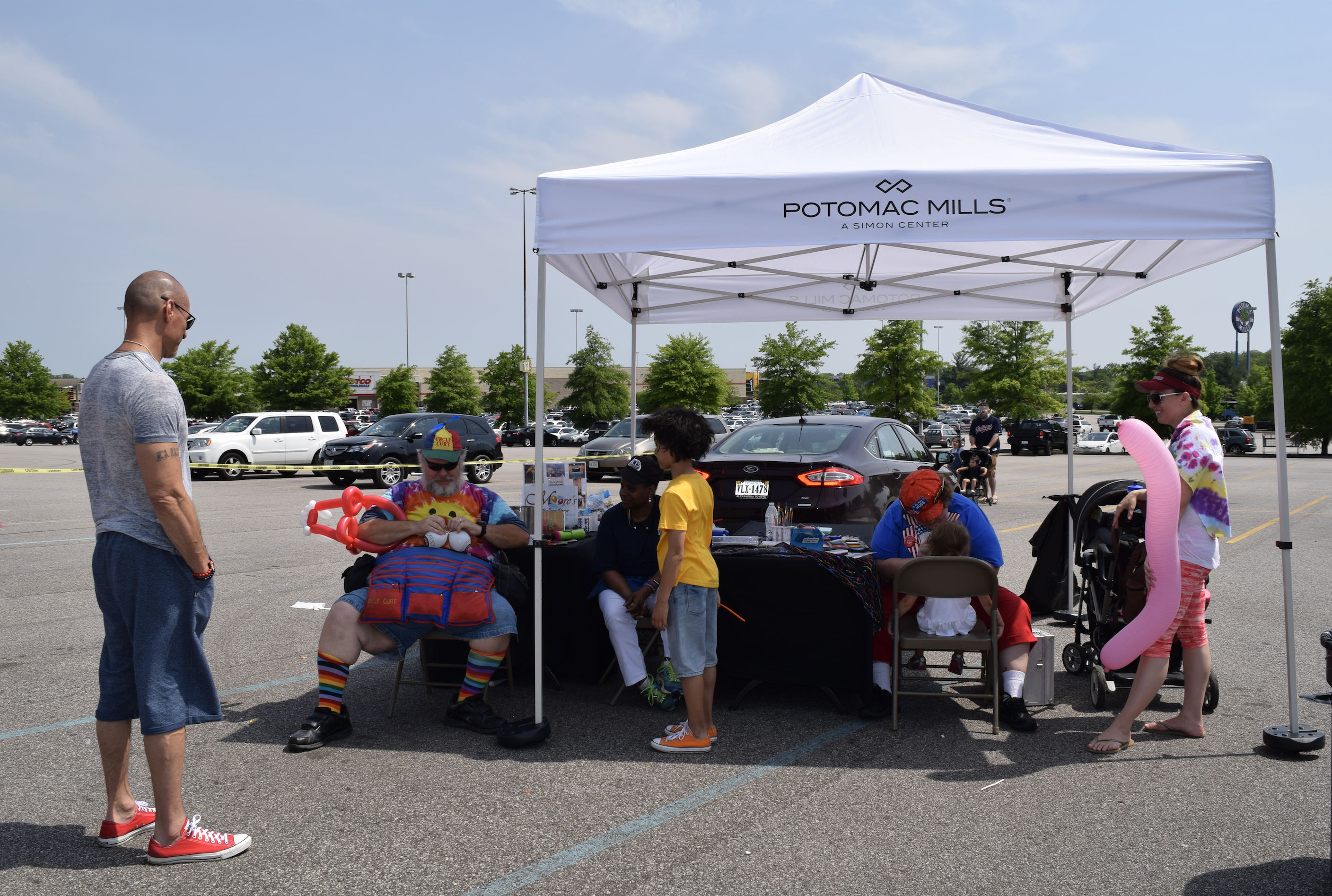 """Face painting is always fun for kids! """"The Market at Potomac Mills - Woodbridge, Virginia"""