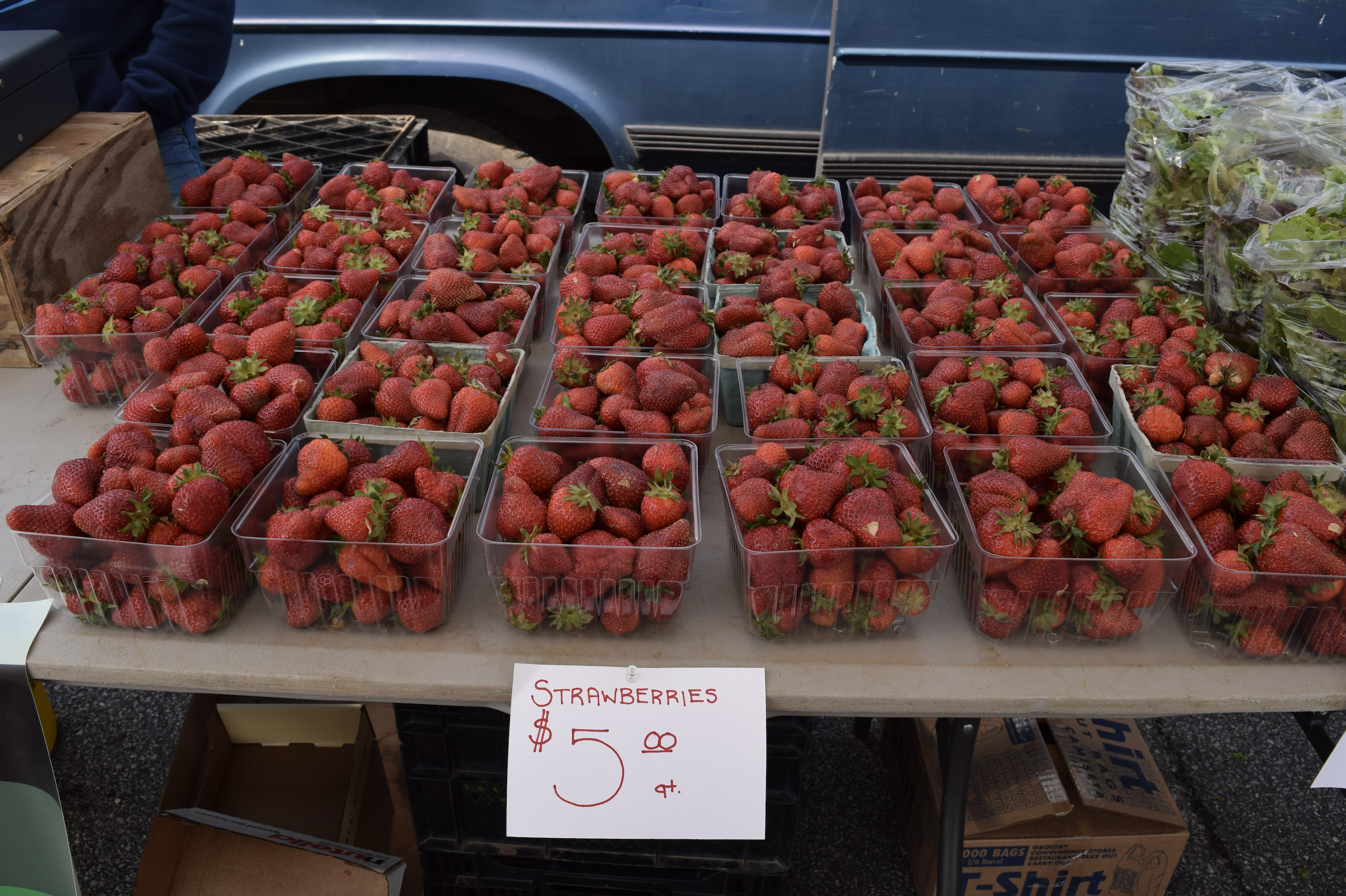 Fresh fruits and produce found at the farmers market in Woodbridge, Virginia - The Market at Potomac Mills