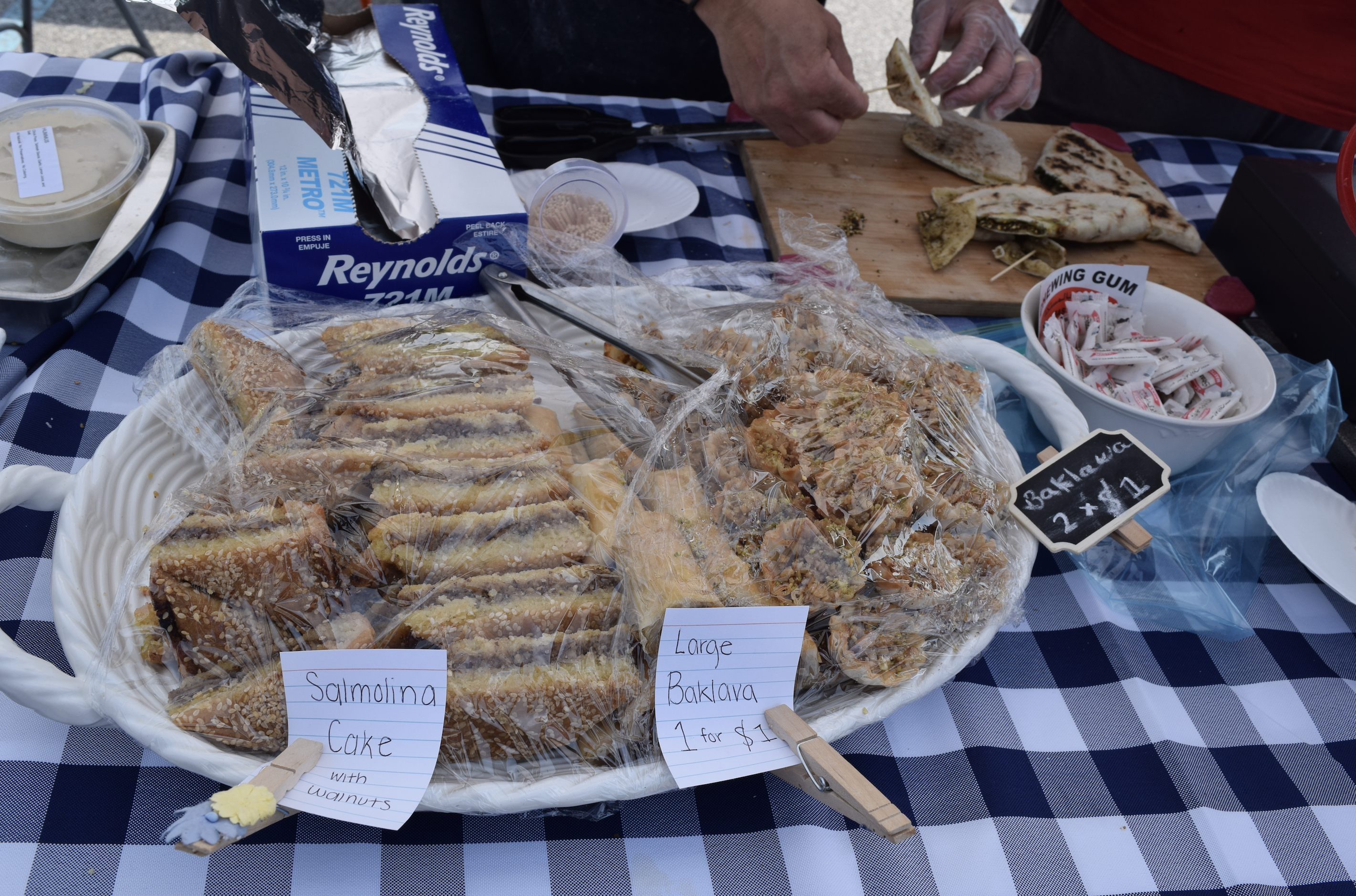 """Find sweet goods and other bakery items at the open farmers market, """"The Market at Potomac Mills - Woodbridge, Virginia"""