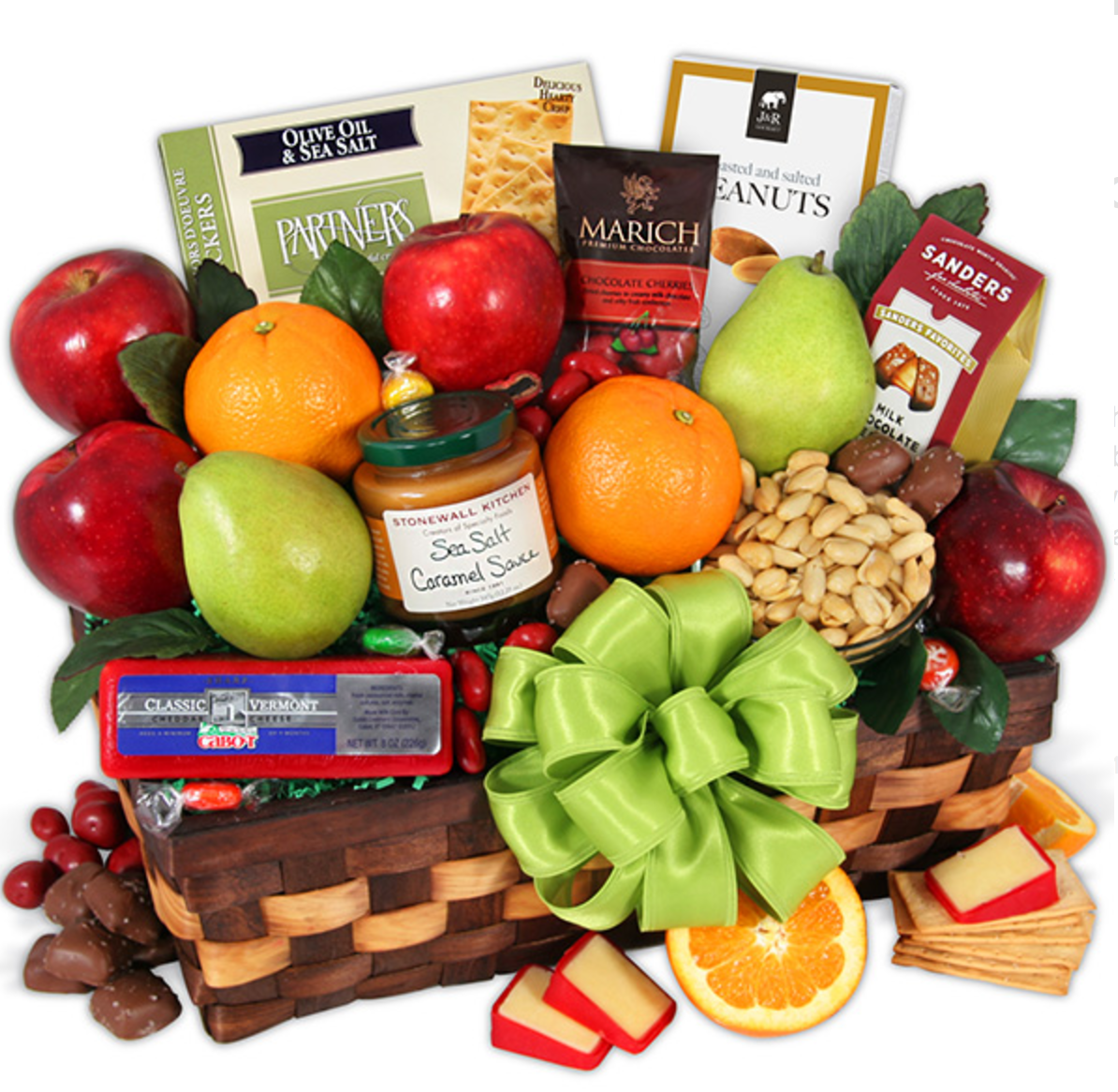 Orchard's Abundance - Fruit Gift Basket