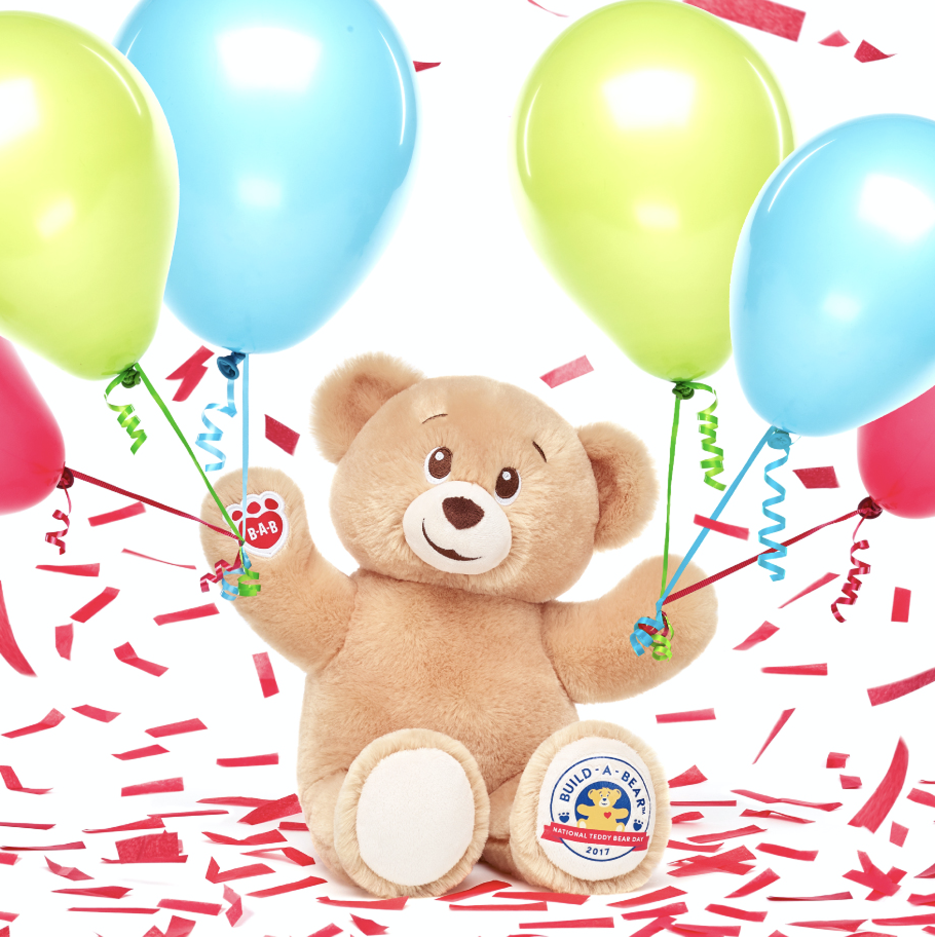 Celebrate National Teddy Bear Day with Build-A-Bear Workshop!