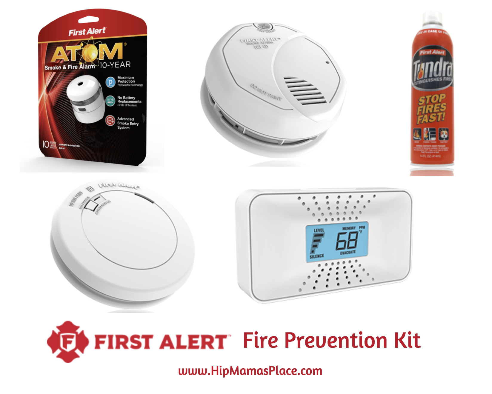 Enter to win a First Alert Fire Prevention Kit worth $220!