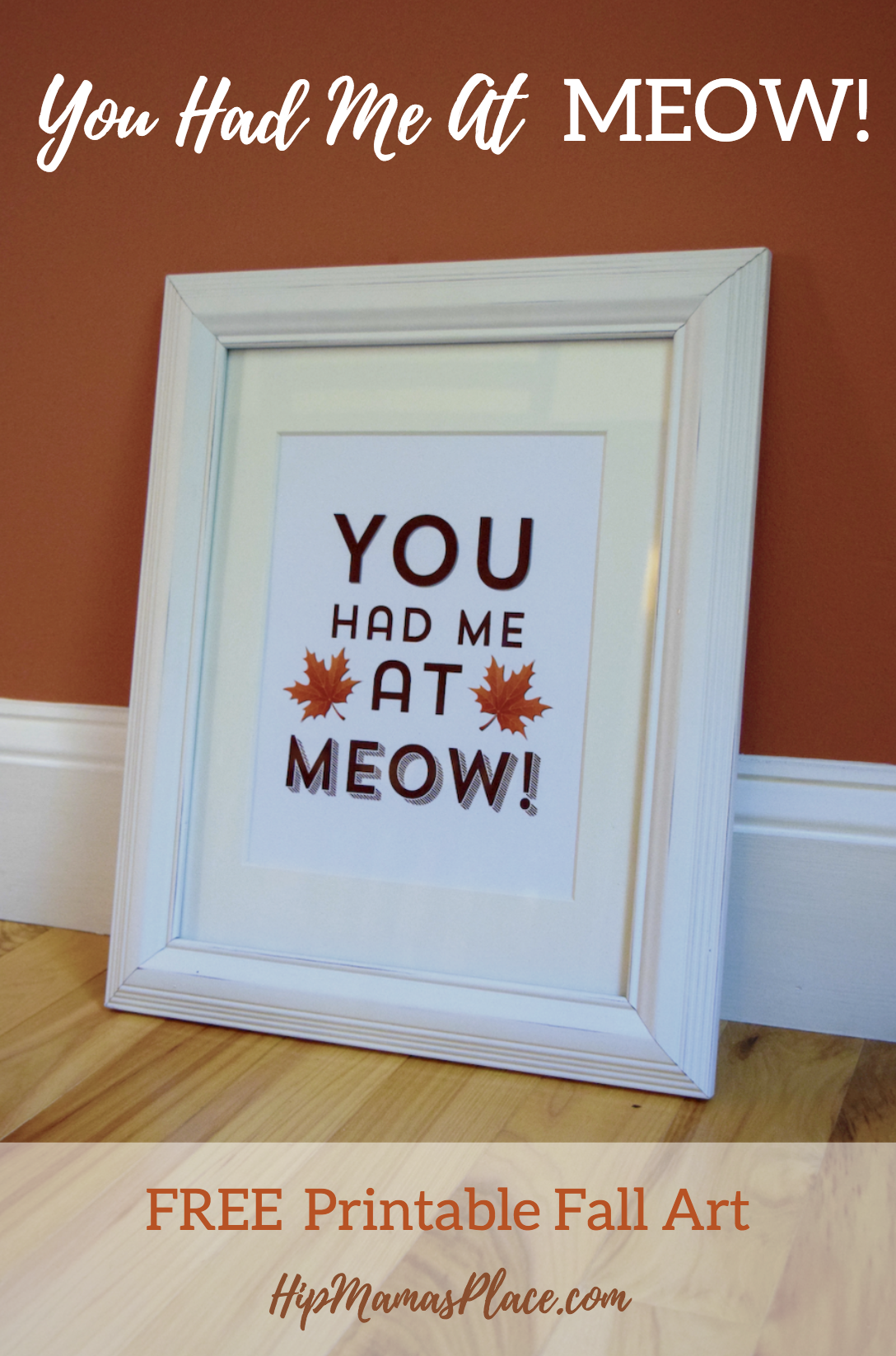Get your FREE Printable Fall Art: