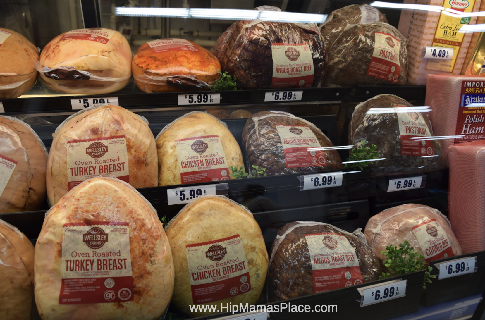 I love that I can just grab fresh deli platters, wine, beer or liquor, fresh meat, frozen appetizers and serving ware for my party all in one place at BJ's Wholesale Club!