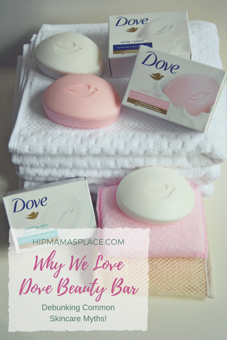 """Let's play """"Two Truths and A Lie"""" where I debunk some of the most common skincare myths. Plus, I'll tell you why my family loves Dove Beauty Bar!"""