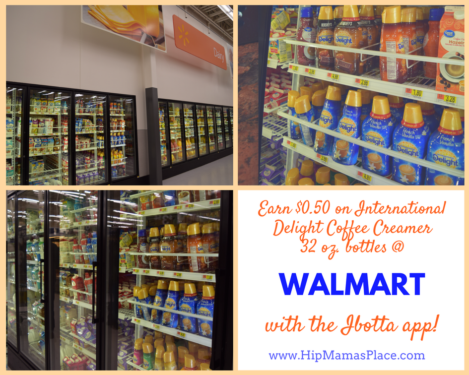 International Delight Coffee creamer Ibotta deals at Walmart