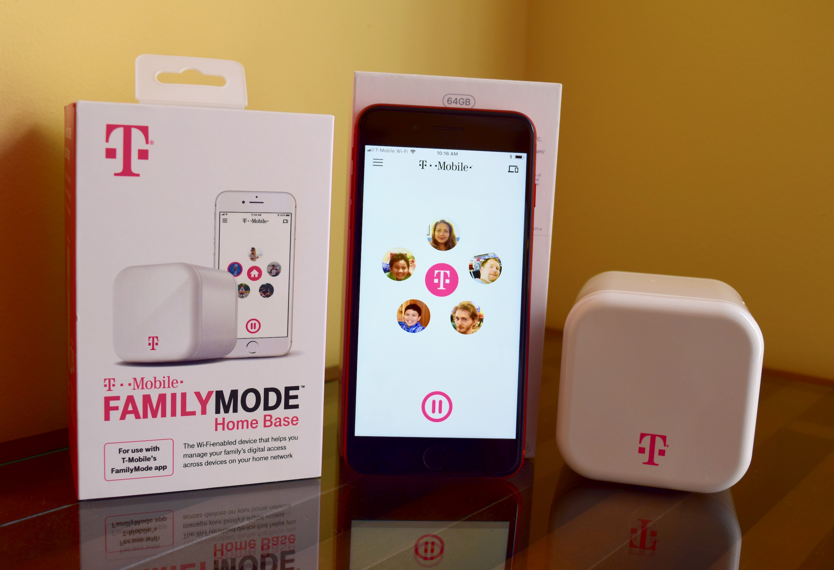 While the carriers' solutions only cover the devices connected to their networks, T-Mobile FamilyMode lets us do all these on our kids' phones, tablets, gaming consoles, laptops, smart TVs and the other Wi-Fi-connected devices in our home.