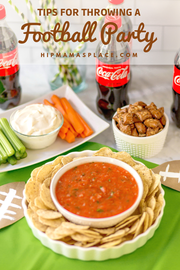 Football season is here and I've got 5 top tips for throwing a football party! Plus, you'll love my quick and easy 5 Minute Homemade Salsa recipe! Full story @ www.hipmamasplace.com! #AD #SoFabFood #HomeGatingHacks #CollectiveBias