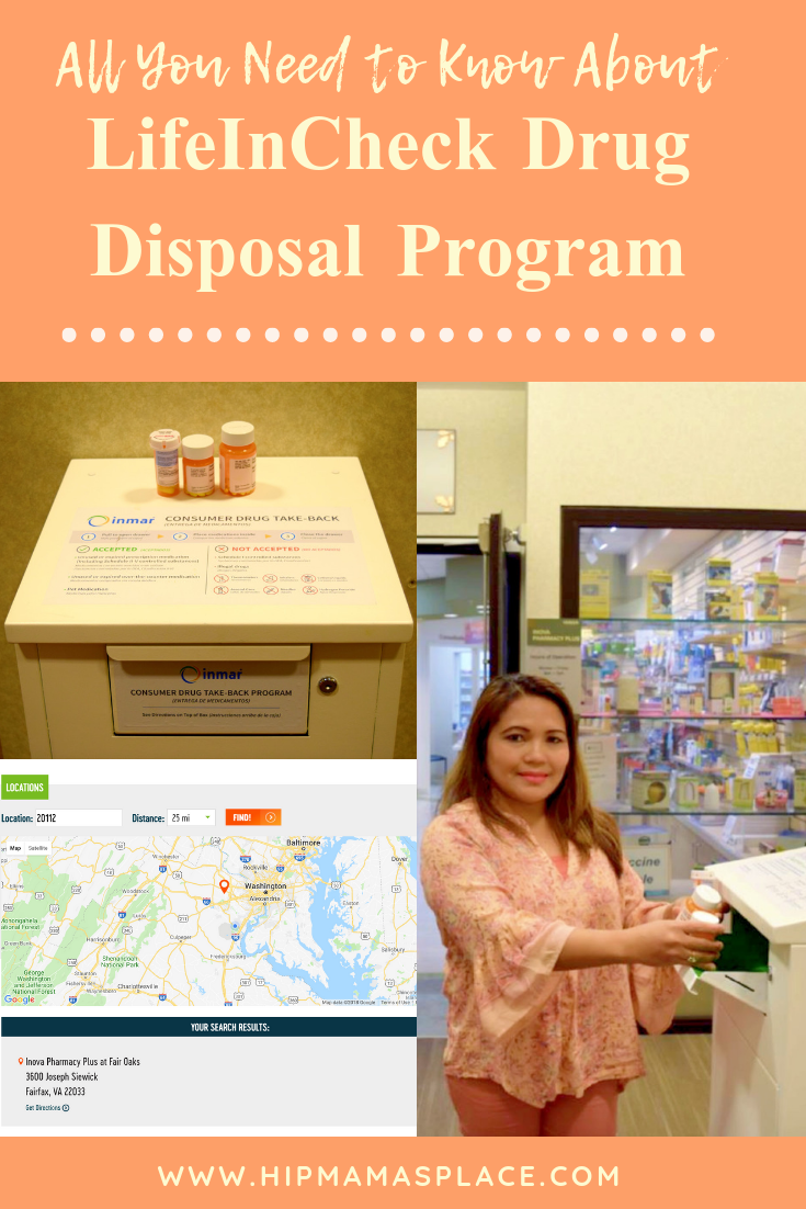 October 27, 2018 is National Drug Take-Back Day and you can discard your unused drugs at designated LifeInCheck Drug Disposal receptacles near you! Find out more at www.hipmamasplace.com #AD #CollectiveBias #LICDrugDisposal