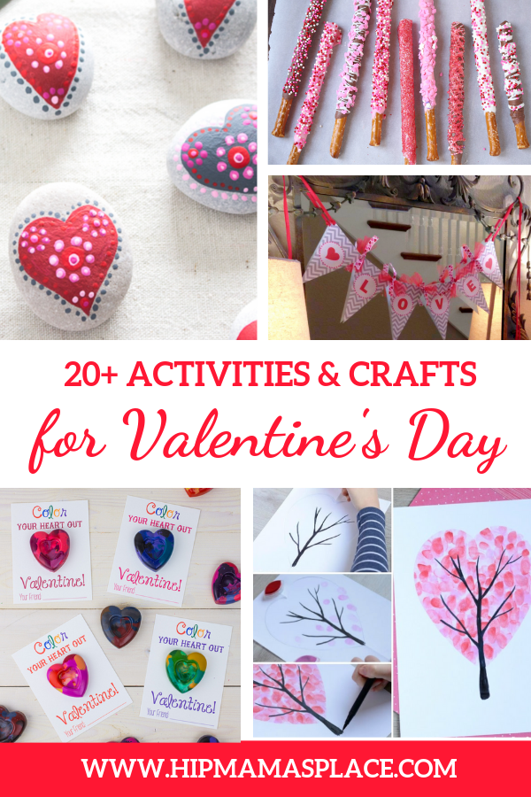 Valentine's Day crafts and activities for the whole family