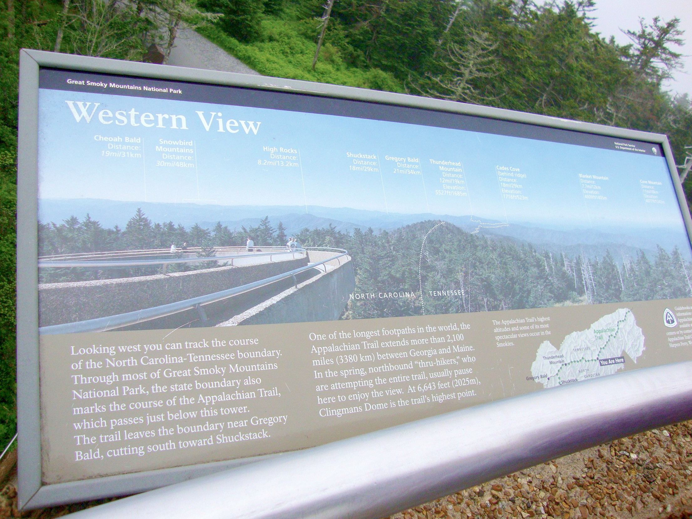Exploring the Great Smoky Mountains National Park and Clingmans Dome